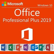 Лицензионный ключ активации Office Professional Plus 2019 32/64-Bit Цифровая лицензия RETAIL KEY Multilanguage