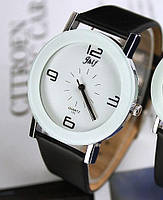 Наручные часы женские с черным ремешком код 598