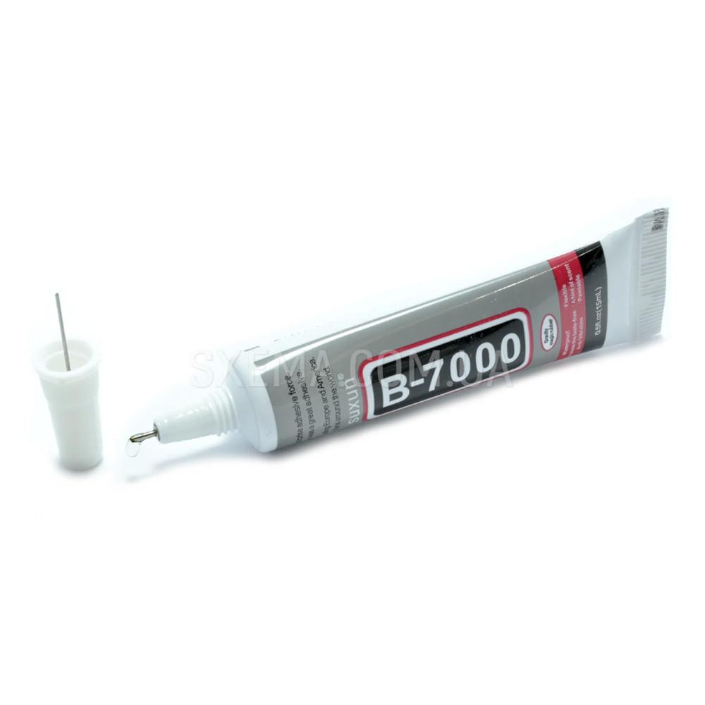 Силиконовый клей B7000 15мл прозрачный с дозатором