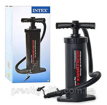 Ручной насос повышенной мощности Intex 68605 для разных моделей надувных изделий