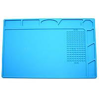 Коврик для пайки S-130 320x230мм термостойкий силиконовый термоковрик мат для разборки и пайки, фото 1