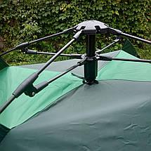 Палатка автоматическая Smart Camp, 2-х местная, зеленая (Живое фото), фото 2