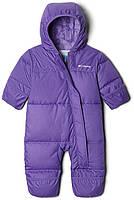 Зимний комбинезон пуховик Columbia Snuggly Bunny, цвет Grape Gum/Paisley Purple Critter