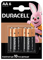 Батарейка AA DURACELL LR06 MN1500, блістер 1х6шт (Art.5007757)