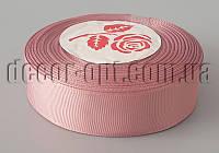 Лента репсовая оттенок лилового 2,5 см 25 ярд арт.069