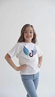 Детская футболка яркие цвета хлопок размер: 1 (134-140), 2(140-146), 3 (152-158)