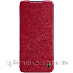 Кожаный чехол (книжка) Nillkin Qin Series для Xiaomi Redmi K30 Pro