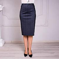Комбинированная трикотажная юбка №2, фото 1