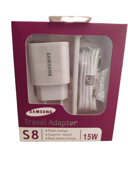 Зарядний пристрій 220 В з кабелем USB - micro USB Fast Charger Samsung