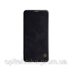 Кожаный чехол (книжка) Nillkin Qin Series для Huawei Honor Note 10