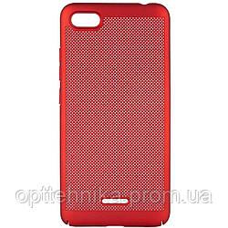 Ультратонкий дышащий чехол Grid case для Xiaomi Redmi 6A