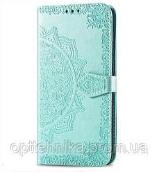 Кожаный чехол (книжка) Art Case с визитницей для Xiaomi Mi Max 2