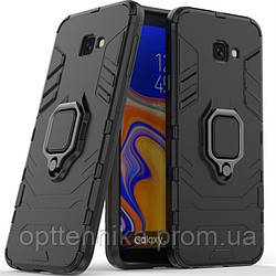 Ударопрочный чехол Transformer Ring for Magnet для Samsung J410F Galaxy J4 Core (2018)