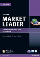 Учебник  Market Leader 3rd Edition Advanced Coursebook with DVD-ROM and MyEnglishLab ISBN 9781447922254