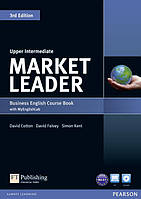 Учебник  Market Leader 3rd Edition Upper-Intermediate Coursebook with DVD-ROM and MyEnglishLab ISBN 9781447922292