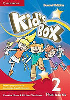 Карточки Kids Box Second edition 2 Flashcards (Pack of 103) Nixon, C ISBN 9781107680449