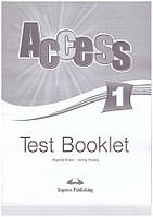 Книга Acces 1 Test Booklet ISBN 9781848622814