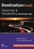 Учебник Destination C1&C2 Students Book Grammar&Vocabulary with key ISBN 9780230035409