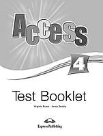Книга Acces 4 Test Booklet ISBN 9781848622845