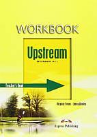 Книга для учителя Upstream beginner teachers book workbook ISBN 9781845588366