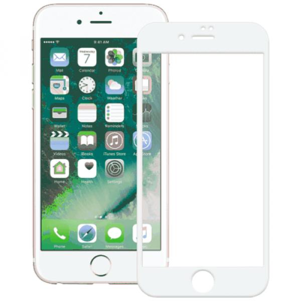 Apple iPhone 6 Plus/6S Plus Захисне скло + плівка на задню поверхню XO Series-8 FD1 3D White 0,26 mm