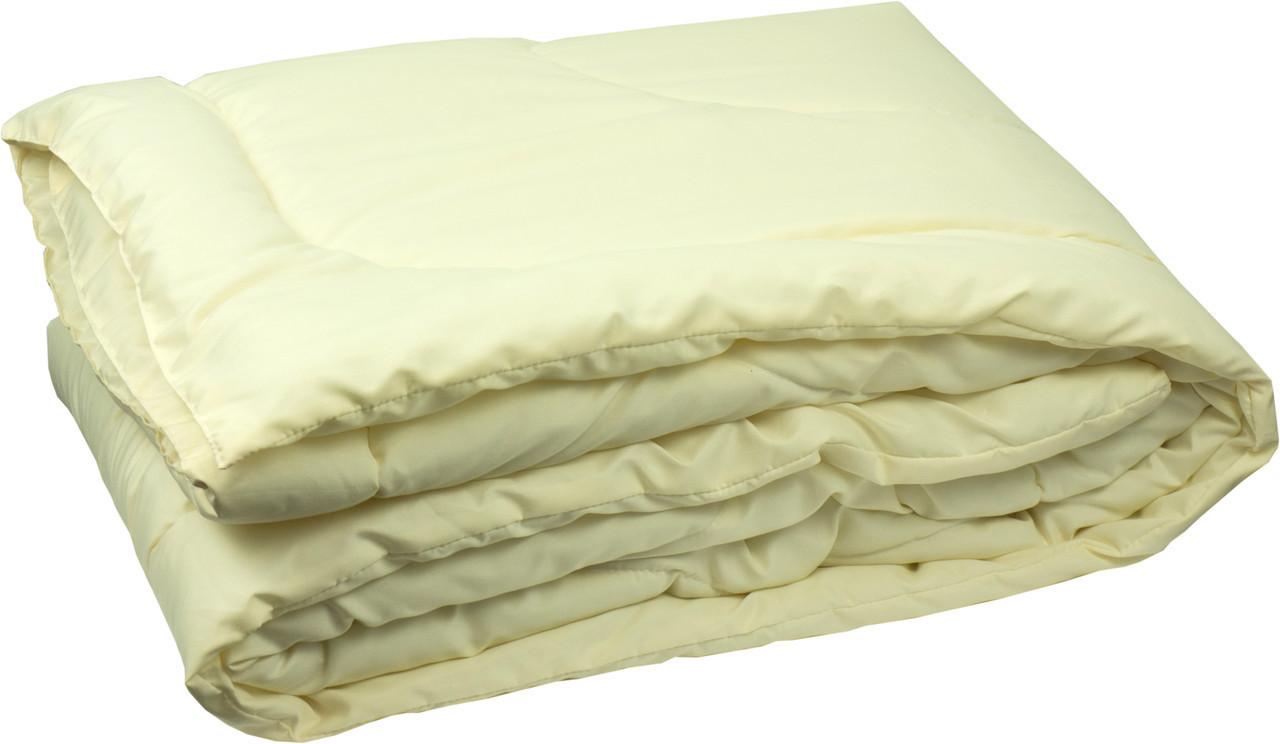 Одеяло закрытое однотонное бамбуковое волокно прессованное (Микрофибра) Двуспальное Евро #1036