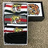 Socks Gucci Pack 4 Grey/White/White/Black, фото 3