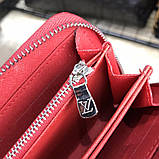 Louis Vuitton x Supreme Wallet Zip Around Epi Red, фото 9