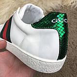Gucci Web Sneaker White, фото 7