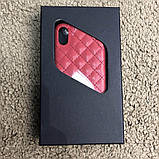 Chanel Iphone X Case Quilted Double C Red, фото 8