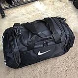 Nike Brasilia Training Duffel Bag (Medium) Black, фото 3