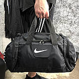 Nike Brasilia Training Duffel Bag (Medium) Black, фото 4