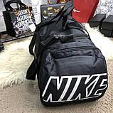 Nike Brasilia Training Duffel Bag (Medium) Black, фото 5