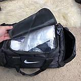 Nike Brasilia Training Duffel Bag (Medium) Black, фото 8