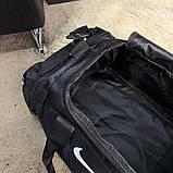 Nike Brasilia Training Duffel Bag (Medium) Black, фото 10
