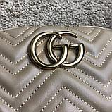 Gucci Belt Bag GG Marmont Beige, фото 2