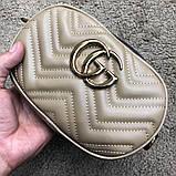 Gucci Belt Bag GG Marmont Beige, фото 4