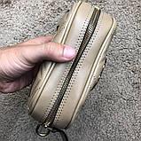Gucci Belt Bag GG Marmont Beige, фото 8