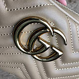 Gucci Belt Bag GG Marmont Beige, фото 9