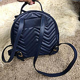 Gucci GG Marmont Quilted Backpack Blue, фото 5