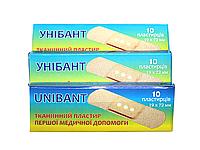 Пластырь бактерицидный UNIBANT (300шт/19х72мм)