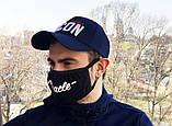 Защитная маска Miracle Italics black, фото 4