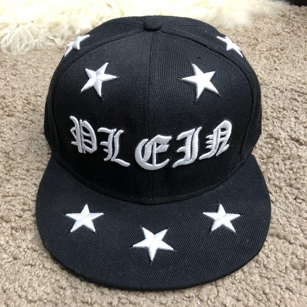 Baseball Cap Philipp Plein Sheen Black