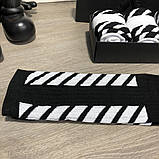 Socks Palace x Off White Pack 4 Black/White, фото 3