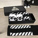 Socks Palace x Off White Pack 4 Black/White, фото 4