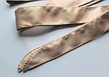 Женский пояс кушак широкий золотистый, фото 2