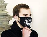 Защитная маска Miracle Skull black, фото 2