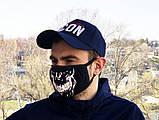 Защитная маска Miracle Skull black, фото 3