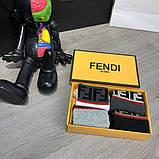 Набор Носков Fendi Pack 4 Gray/Black/Graphite/White, фото 3