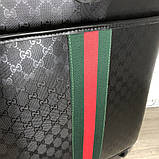 Gucci Rolling Luggage Signature 55 with Web Black, фото 4